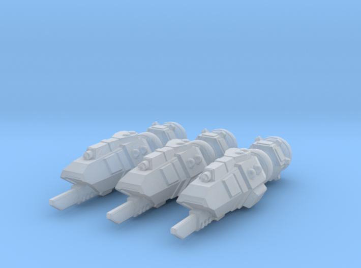Buru Gunboat Squadron 3d printed