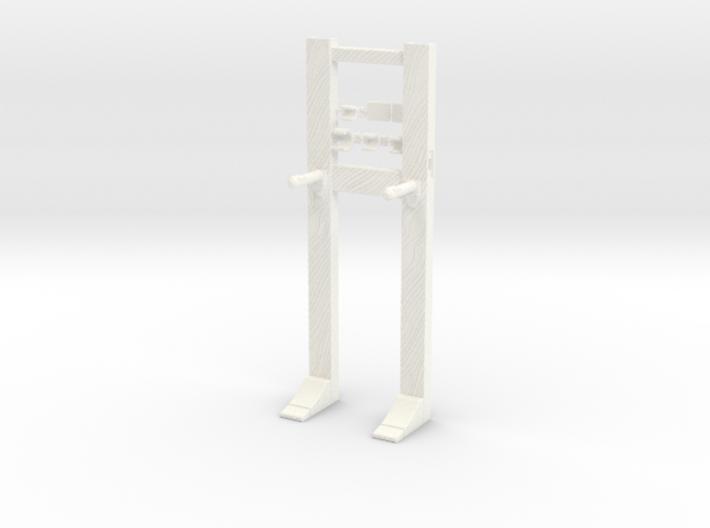Modular Wooden Rack 3d printed