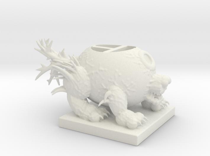Eye Wolf Item Holder 3d printed