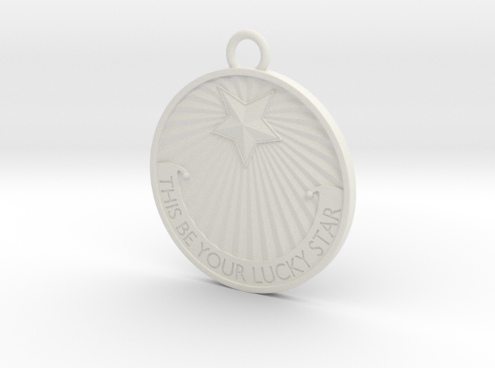 This Be Your Lucky Star Titanic Pendant / Keychain 3d printed
