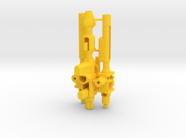 Excavator Weapons 3d printed