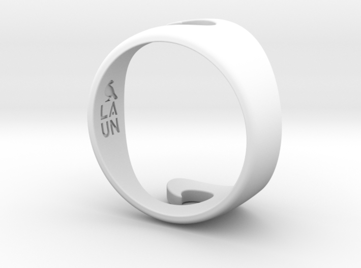 Wave Ring - Water (purchase with Wave Ring - Air) 3d printed