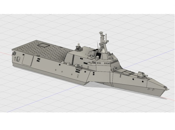 1/1800 USS Independence 3d printed Computer software render