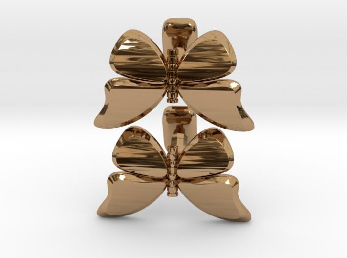 Butterfly Cufflinks 1 3d printed