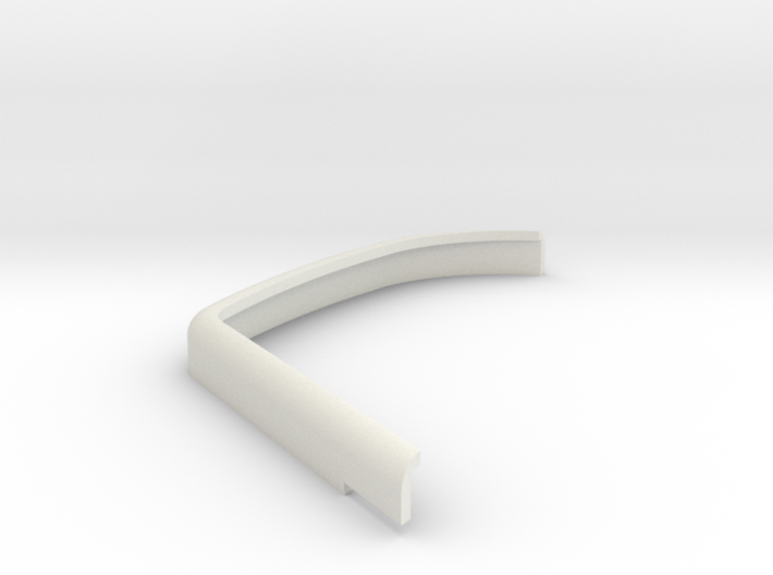 DeAgostini Hummer H1 Front wing mudguard front lef 3d printed