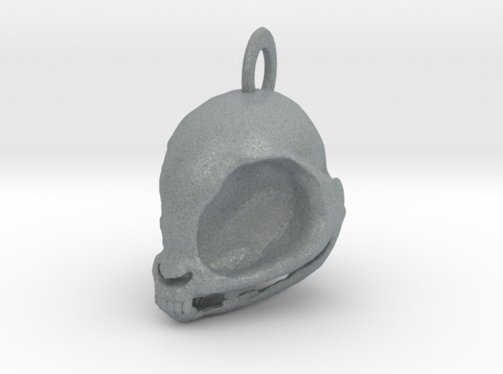 My Little Pony Skull! (Necklace charm) 3d printed