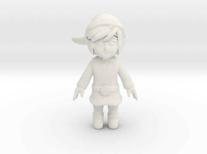 The WindWaker Link 3d printed