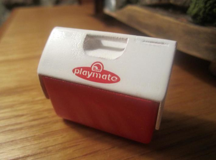 1:10 Scale Playmate Cooler 3d printed Add a caption...