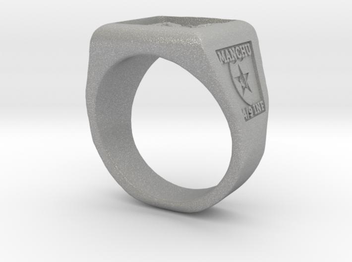 Ft. Lewis Manchus Square Ring 3d printed