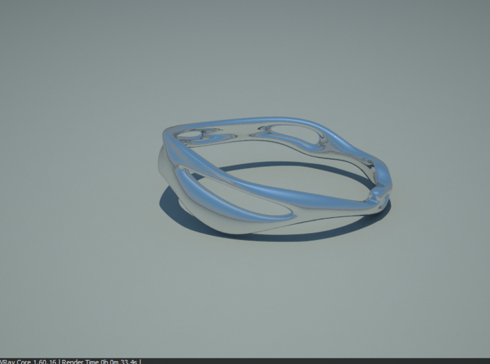 Fluid Ring 3d printed