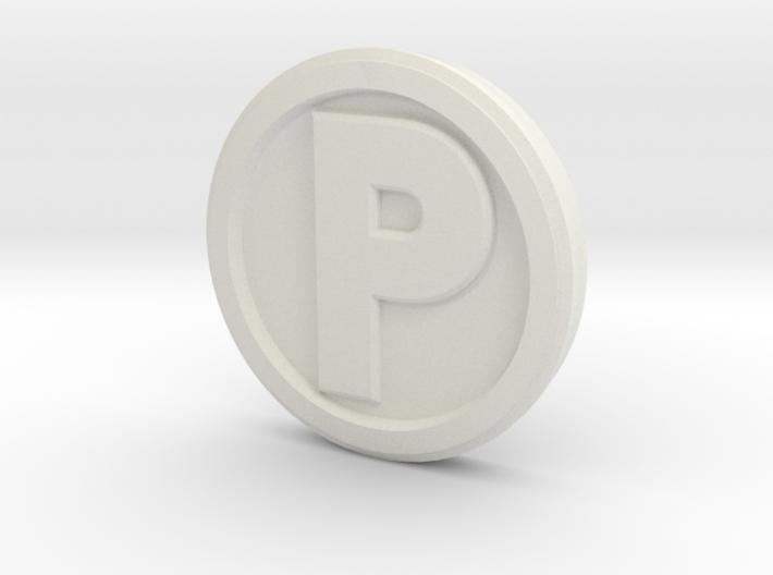 Printle Base (Round High) 1.5 cm 3d printed