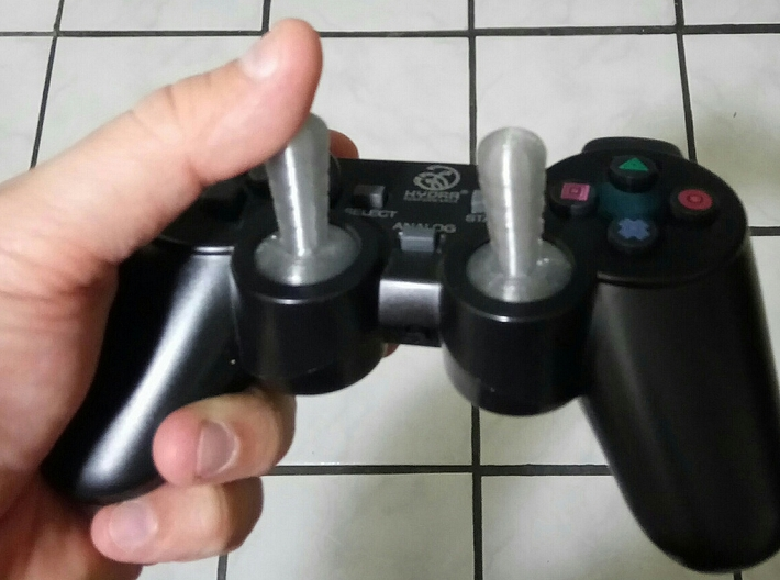 Longer Analog Stick for Dual Shock 2 3d printed