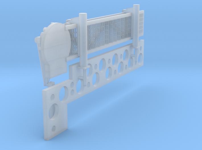 1:96 scale Walkway - Starboard - Short 3d printed