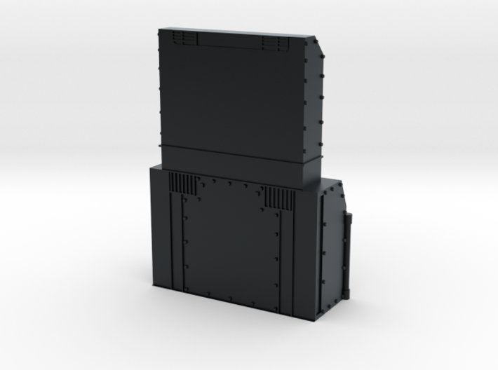 P32 AC-DM Chassis Add-On N Scale 3d printed