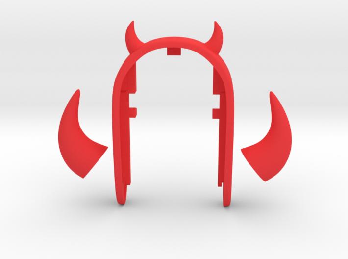 DEVIL SET KEY FOB for MINI COOPER F54, F55, F56, F 3d printed