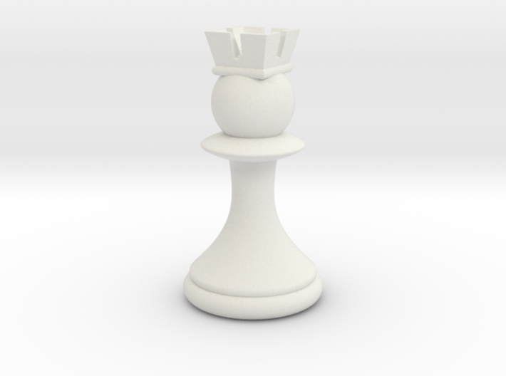 Pawns with Hats - Rook 3d printed