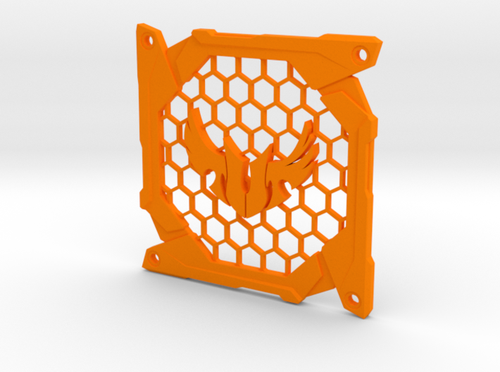 Fan grill (TUF) 3d printed