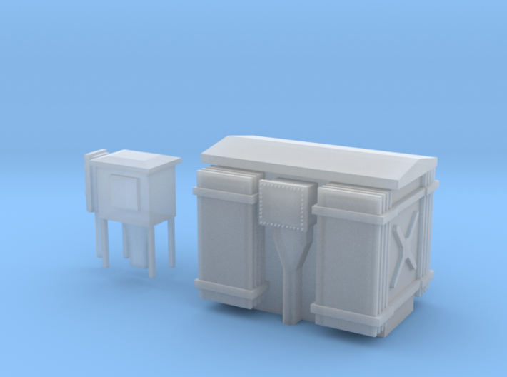 HT Transformer/Substation 3d printed