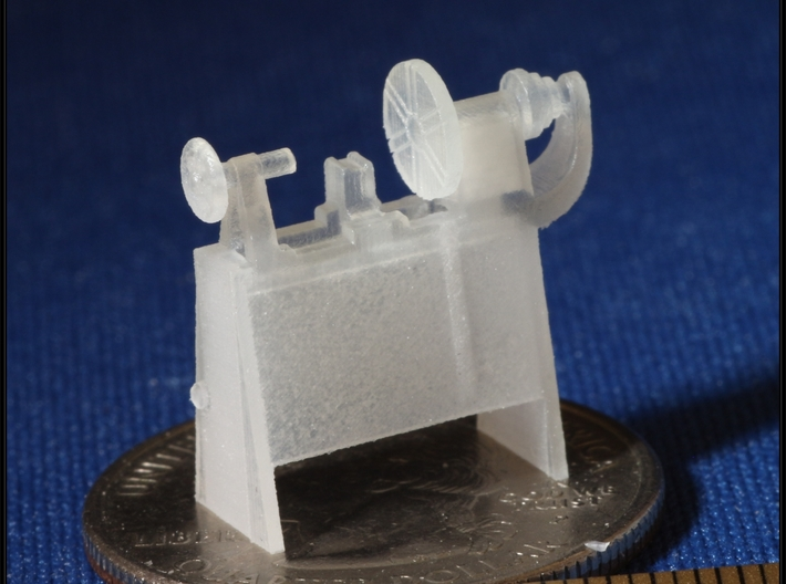 Small Machines for Metal Shop HO Scale 1/87 3d printed Metal Lathe