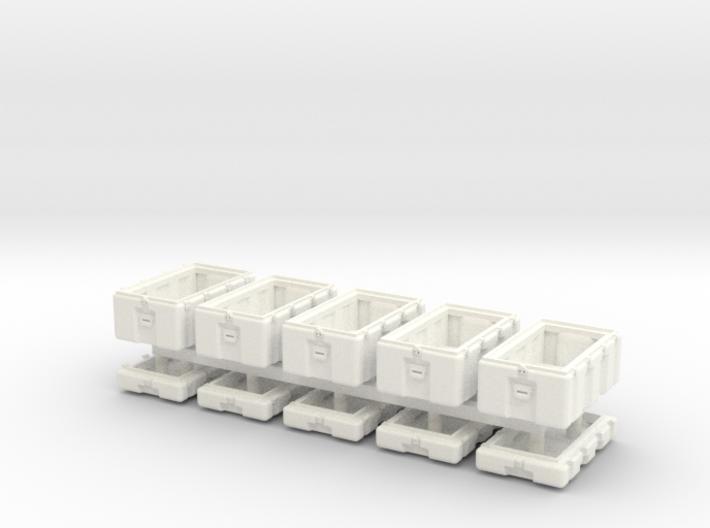1-48 Military Storage Box Set 3d printed
