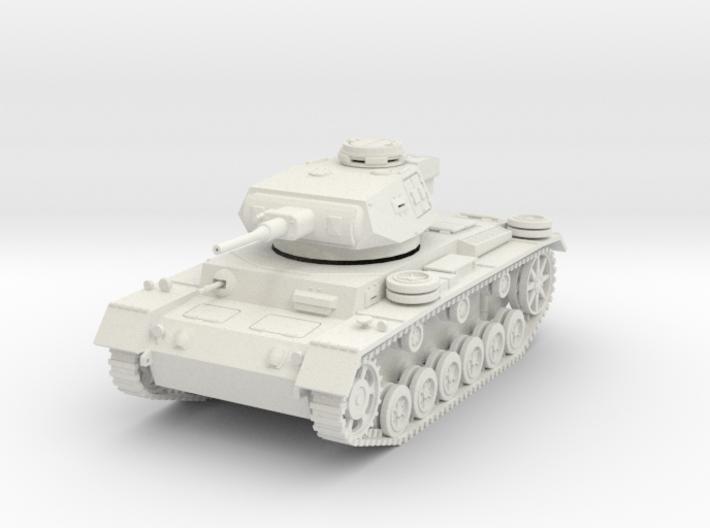 PV163 Pzkw IIIJ Medium Tank (1/48) 3d printed