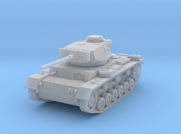 PV164B Pzkw IIIL Medium Tank (1/100) 3d printed