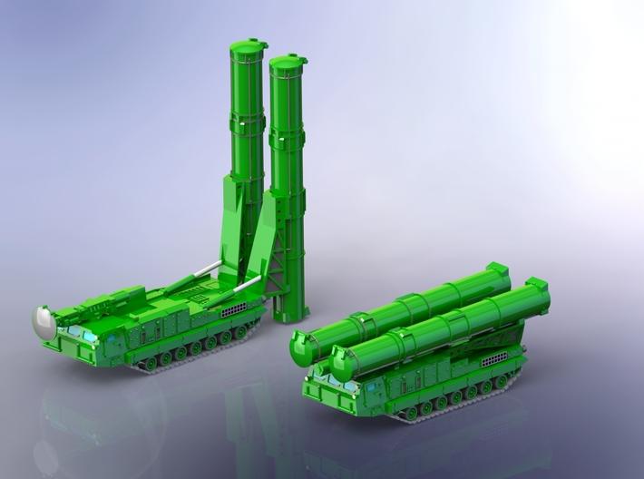 SA-12 SAM Launcher 9A82 9A83 1/285 3d printed 9A82