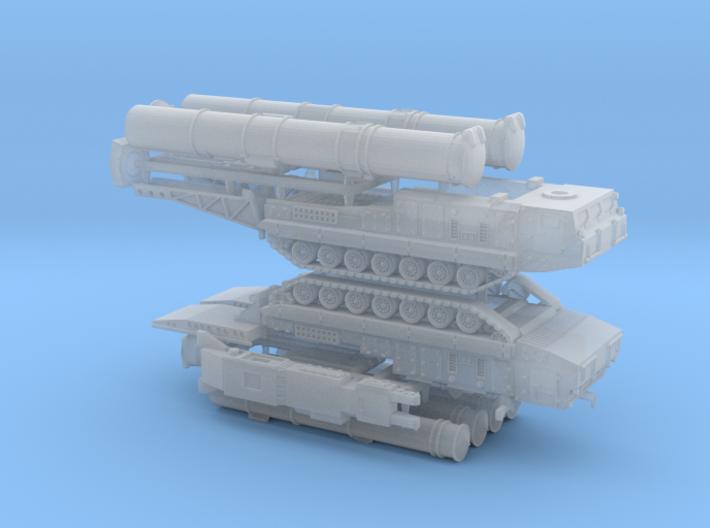 SA-12 SAM Launcher 9A82 9A83 1/285 3d printed