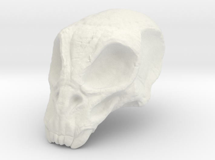 Monster Skull 3d printed