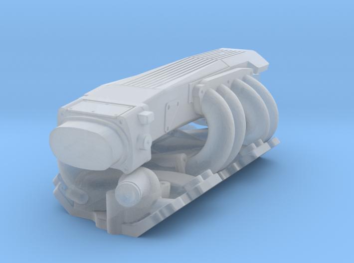 1/43 SBC TPI Intake System 3d printed