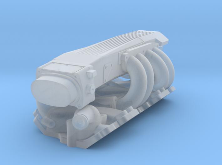 1/32 SBC TPI Intake System 3d printed