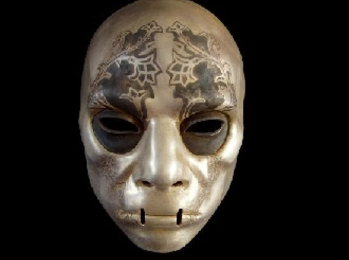 Harry Potter Death eater mask version #5 3d printed