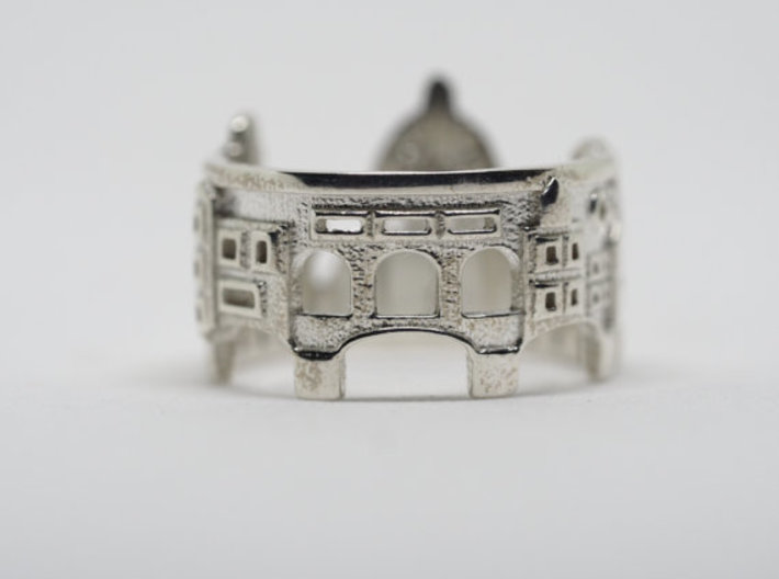 Florence Cityscape - Skyline Ring 3d printed