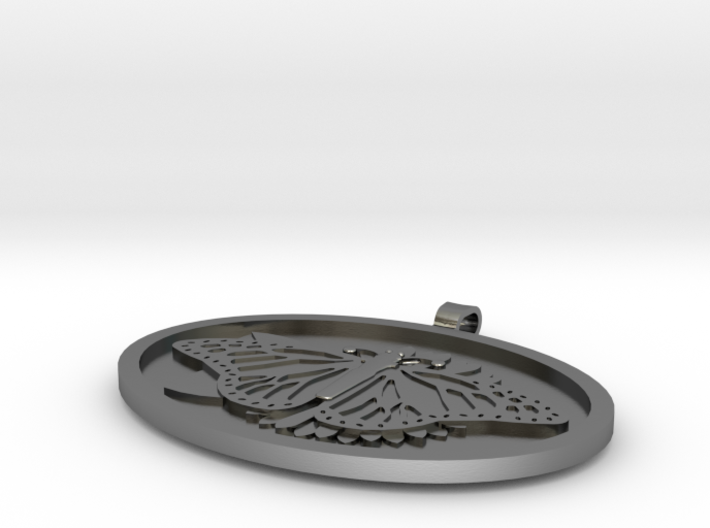 Butterfly Pendent 2 3d printed