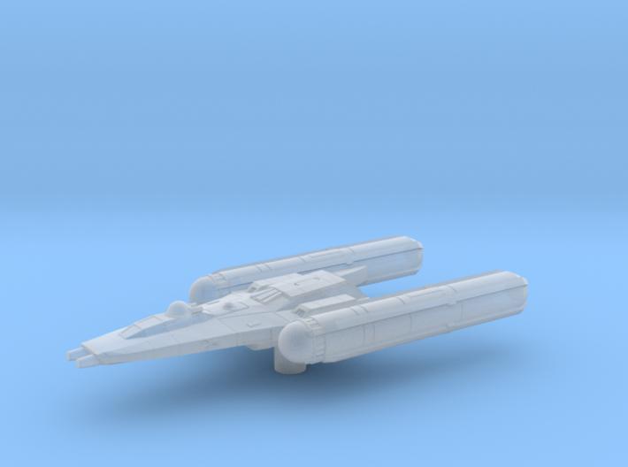 Y Wing Clone Wars era 1/270 3d printed