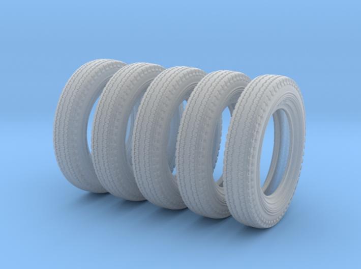 1/24 6.00 X 16 Dunlop Fort Tire SET1 3d printed
