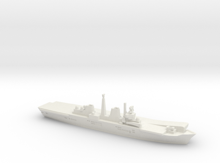 HMS Invincible R05 (Falklands War), 1/1800 3d printed
