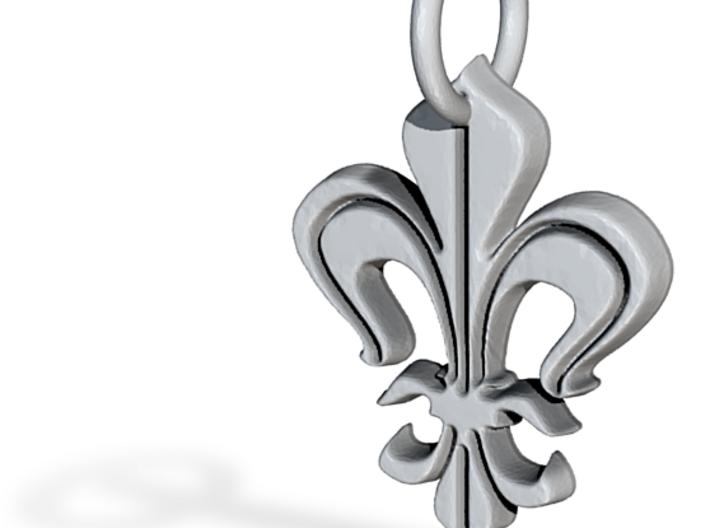 """Heraldic """"Lilie 2"""" 3d printed"""