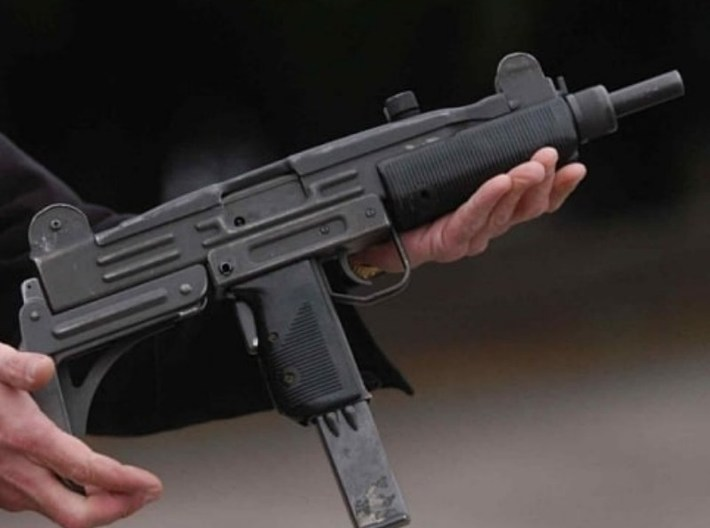 1/16 scale IMI Uzi submachinegun x 1 3d printed