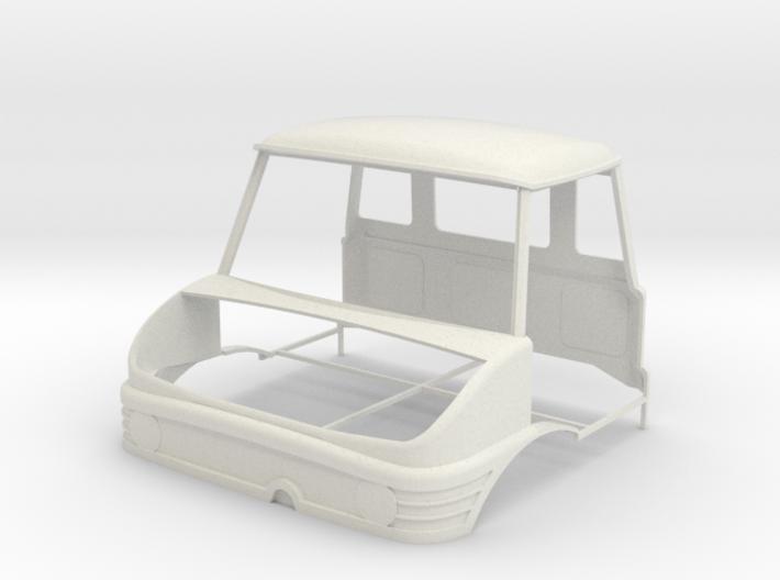 Unimog Cabine-1 3d printed
