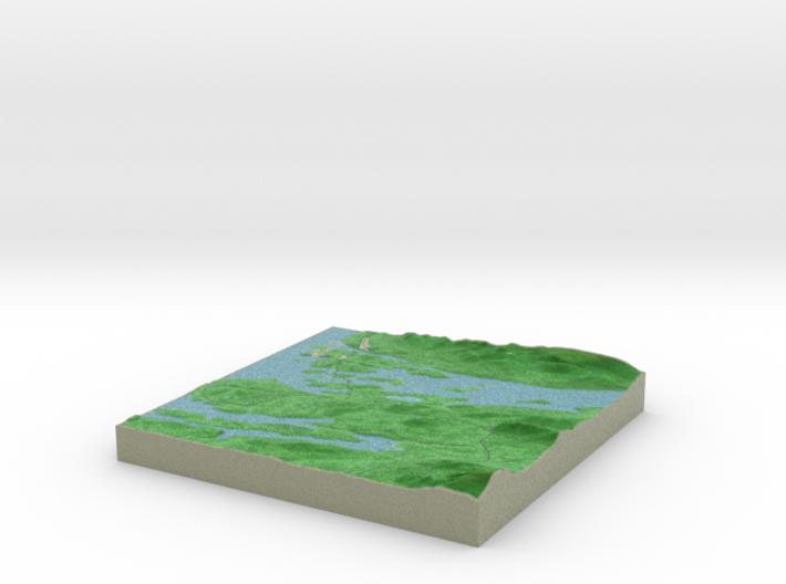 Terrafab generated model Tue Jan 24 2017 18:12:51 3d printed