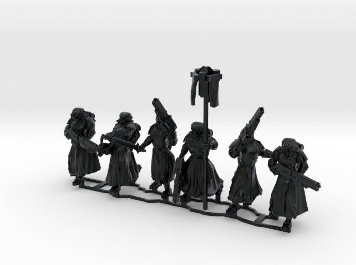 Assault Troops, 28-32mm scale 3d printed