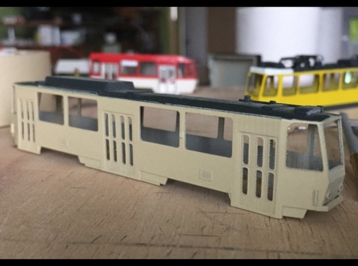 Tatra T6A2 TT [body] 3d printed Tatra T6A2 painted body (by exiswelt)