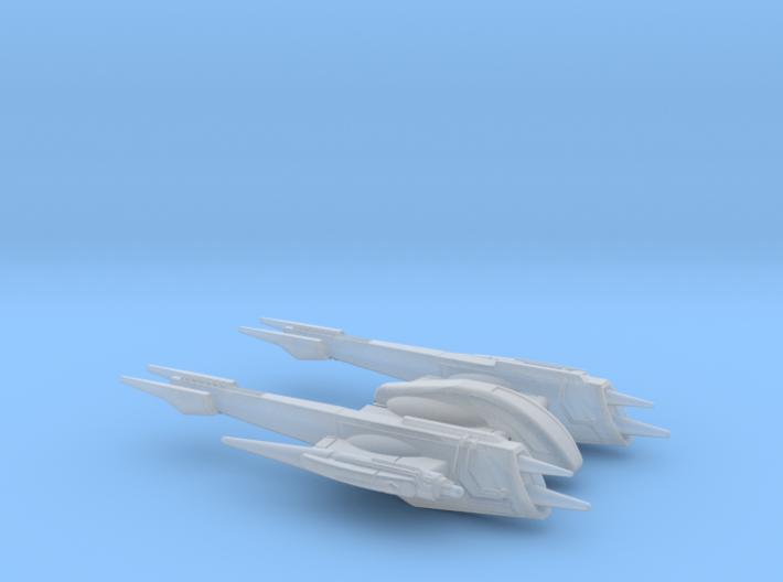 Rogue-class Starfighter 1/270 3d printed