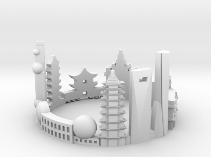 Shanghai 9 3d printed