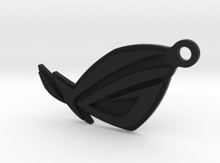 ROG Keychain 3d printed