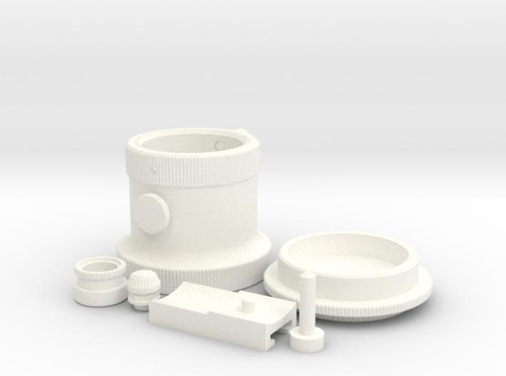 Droid Caller - Metal Parts 3d printed