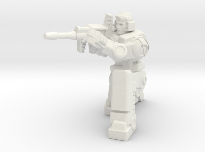 Diaclone Sharpshooter, 5mm Mini 3d printed