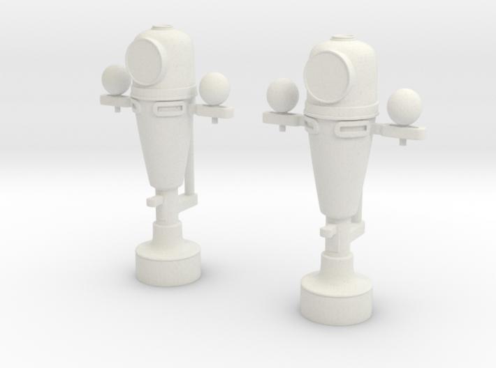 1/32 USN Binnacle Set 3d printed