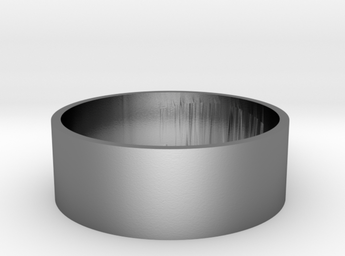 Size 14.5 USA Spike Ring 3d printed